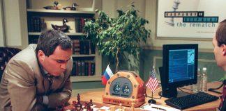 Chess Kasparov IBM